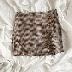 Forever 21 Plaid Mini Skirt WORN ONCE